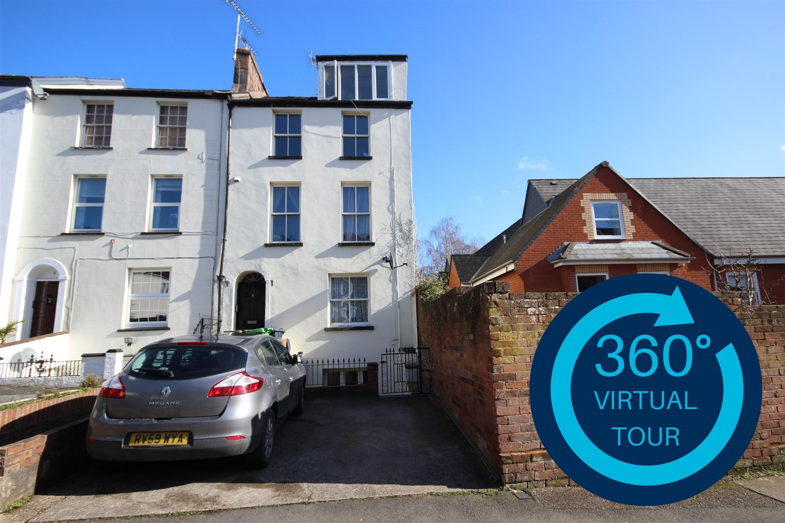1 Bedroom Ground Flat for sale in Grosvenor Place, Exeter